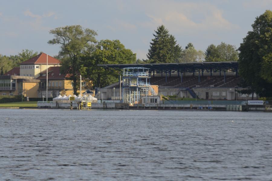 Ausflugsziel Langer See vom Yachthafen Berlin