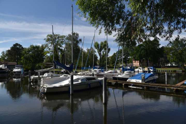 Yachthafen Bootsliegeplatz Köpenick